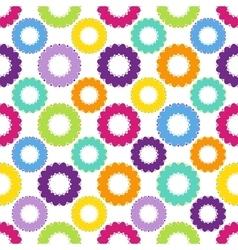 Abstract Circle Pattern Color Big vector image