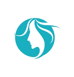 Beauty women icon logo template icon vector