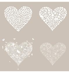 Heart design an element3 vector image vector image