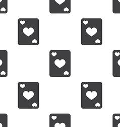 poker seamless pattern vector image vector image