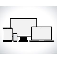 Electronic device set vector