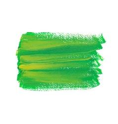 Green acrylic spot vector image