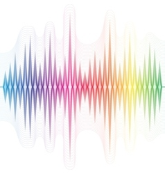 Abstract music equalizer vector