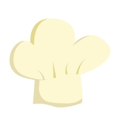 Chef hat uniform isolated icon vector