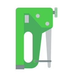 Industrial stapler concept of home improvement vector image