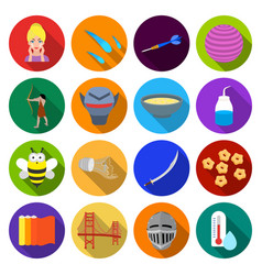 leisure hobbies cosmetologyand other web icon in vector image