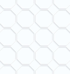 Quilling paper octagons in row vector