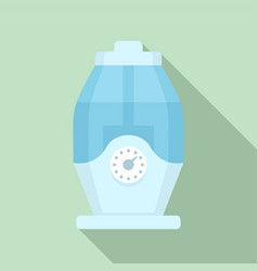 Room humidifier icon flat style vector