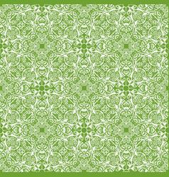 white vintage pattern vector image