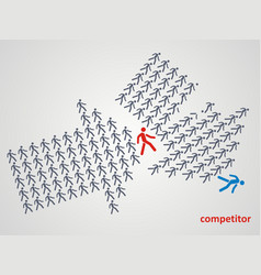 Wrestling competition vector