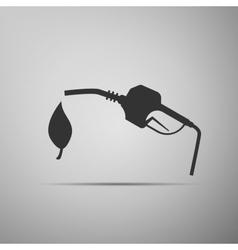Bio fuel symbol icon vector image vector image