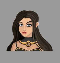 Cartoon woman 3 vector image vector image