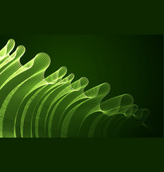 abstract background with magic wave of flowing vector image