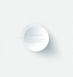art volume control presentation slide web design vector image