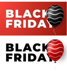black friday sale banner minimal styles posters vector image