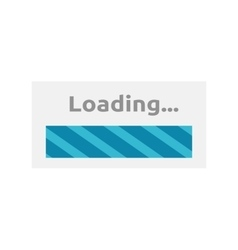 Loading icon isolated vector