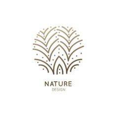 Logo blossom flower vector