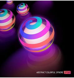 Luminous sphere vector