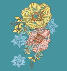 Strange flower vector