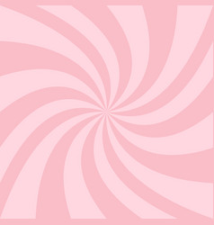 swirl background from twisted spiral ray stripes vector image