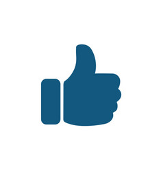thumb up sign icon vector image