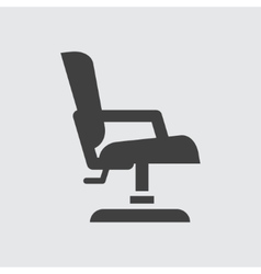 Barber chair icon vector image vector image