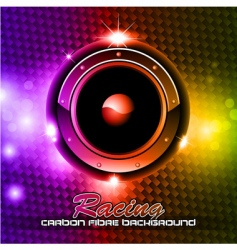 music disco background vector image vector image