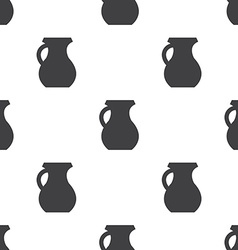 pitcher seamless pattern vector image