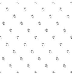 seamless pattern with books vector image