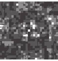 abstract deformed cubes - gray shades vector image vector image
