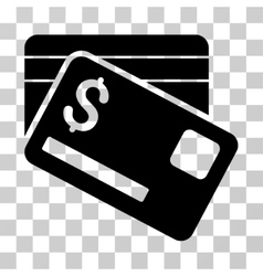 Bank Cards Icon vector image