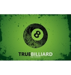 Billiard Billiard logo design Billiard ball vector
