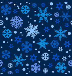 christmas seamless pattern with different shades vector image