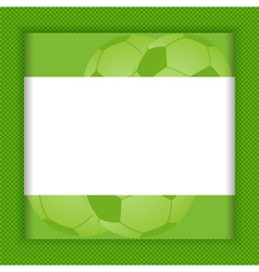 Football border background vector