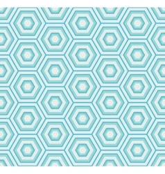 Geometric hexagon seamless pattern vector