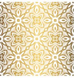 Golden background luxury seamless pattern elegant vector