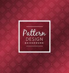 Maroon color pattern design vector