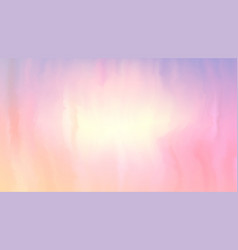 pink and peach color paint mixed on wet surface vector image