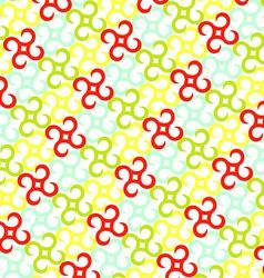 Pinwheels pattern vector