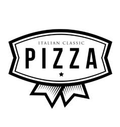 Pizza - Italian Classic vintage logo vector