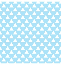 geometric light blue seamless pattern vector image vector image