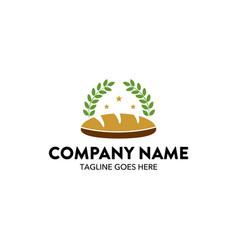 bakery logo-9 vector image vector image