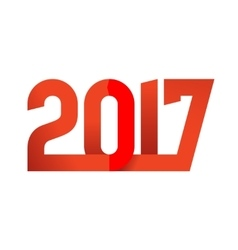 2017 Happy New Year logo vector