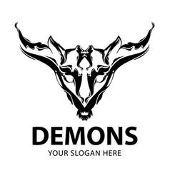 demons logo vector image