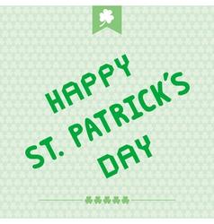 Happy Saint Patrick s Day7 vector image