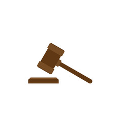 judge hummer icon auction vector image