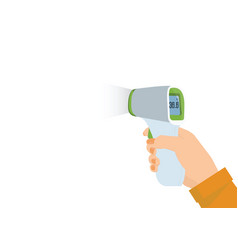 Medical digital infrared thermometer vector