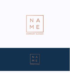 name logo vector image
