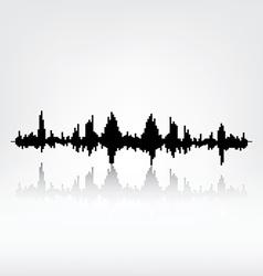 Sound wave vector image