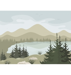 Forest2 vector image vector image